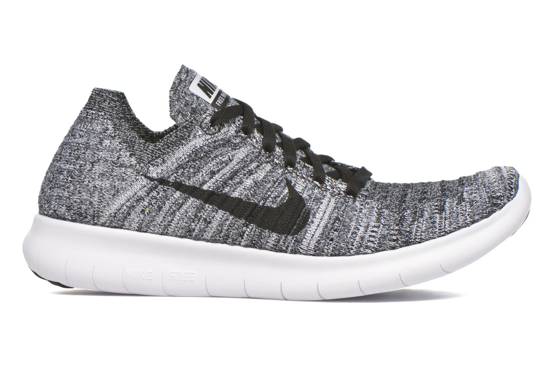 Chaussures de sport Nike Wmns Nike Free Rn Flyknit Noir vue derrière