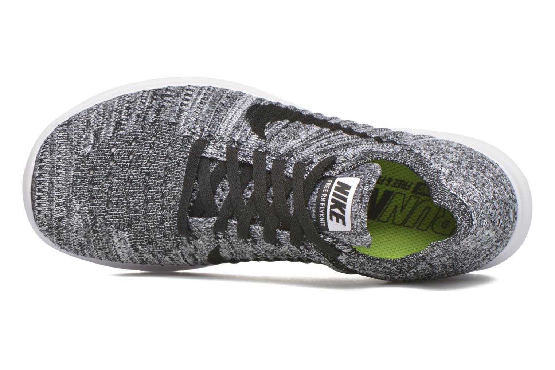 Chaussures de sport Nike Wmns Nike Free Rn Flyknit Noir vue gauche