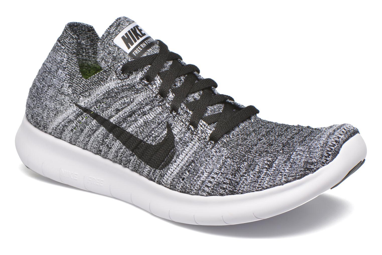 Chaussures de sport Nike Wmns Nike Free Rn Flyknit Noir vue détail/paire