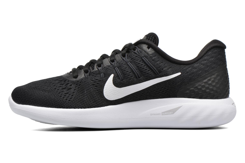 Sportschuhe Nike Wmns Nike Lunarglide 8 schwarz ansicht von vorne