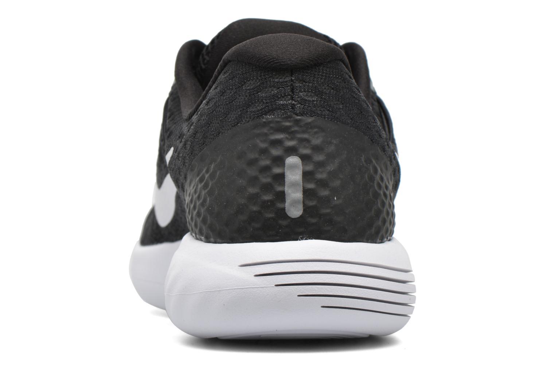 Sportschuhe Nike Wmns Nike Lunarglide 8 schwarz ansicht von rechts
