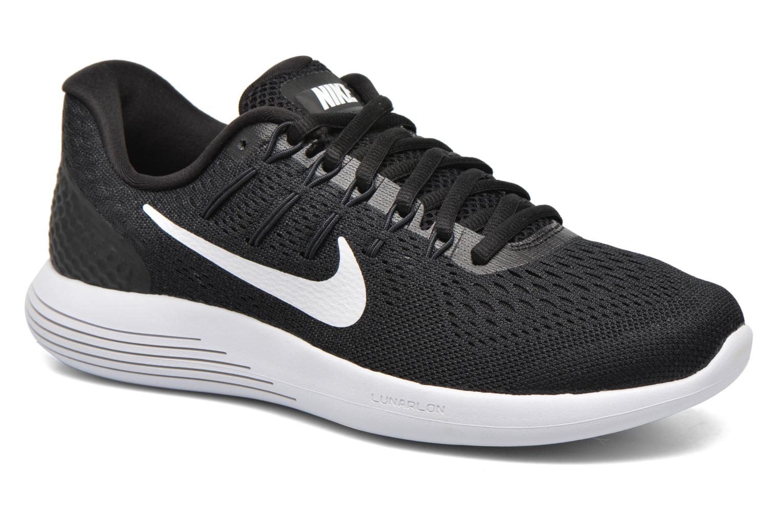 Sport shoes Nike Wmns Nike Lunarglide 8 Black detailed view/ Pair view
