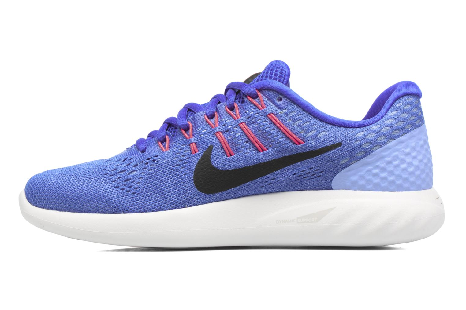 Sport shoes Nike Wmns Nike Lunarglide 8 Blue front view