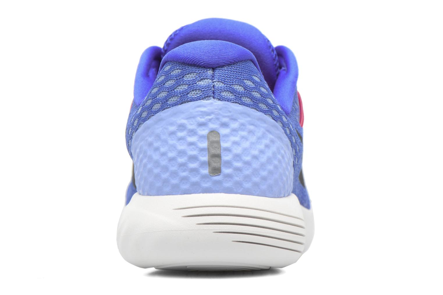 Sport shoes Nike Wmns Nike Lunarglide 8 Blue view from the right