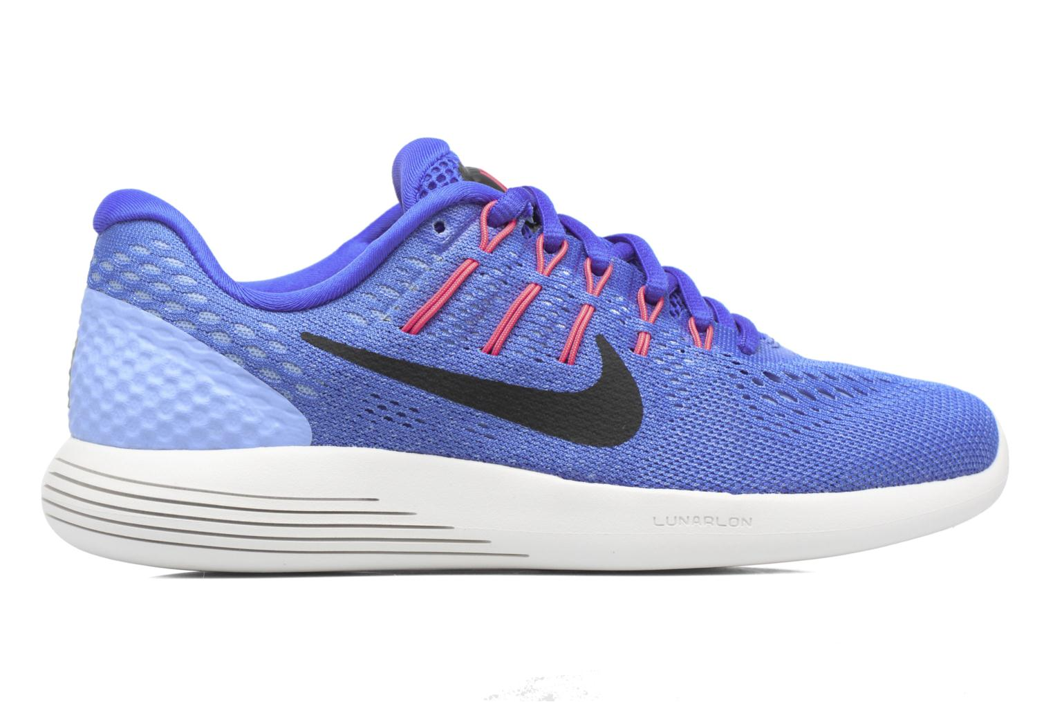 Sport shoes Nike Wmns Nike Lunarglide 8 Blue back view