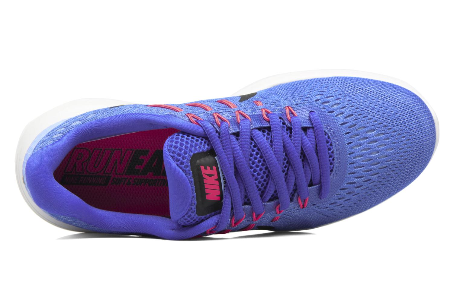 Sport shoes Nike Wmns Nike Lunarglide 8 Blue view from the left