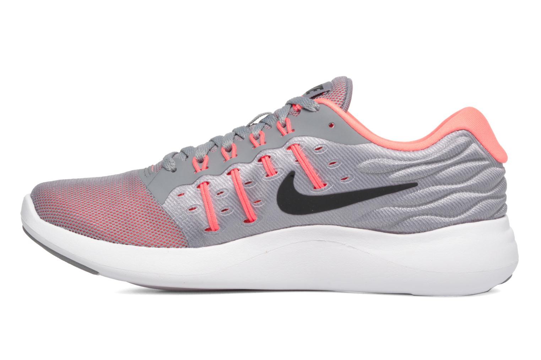 Wmns Nike Lunarstelos Stealth/Black-Hot Punch-Lava Glow