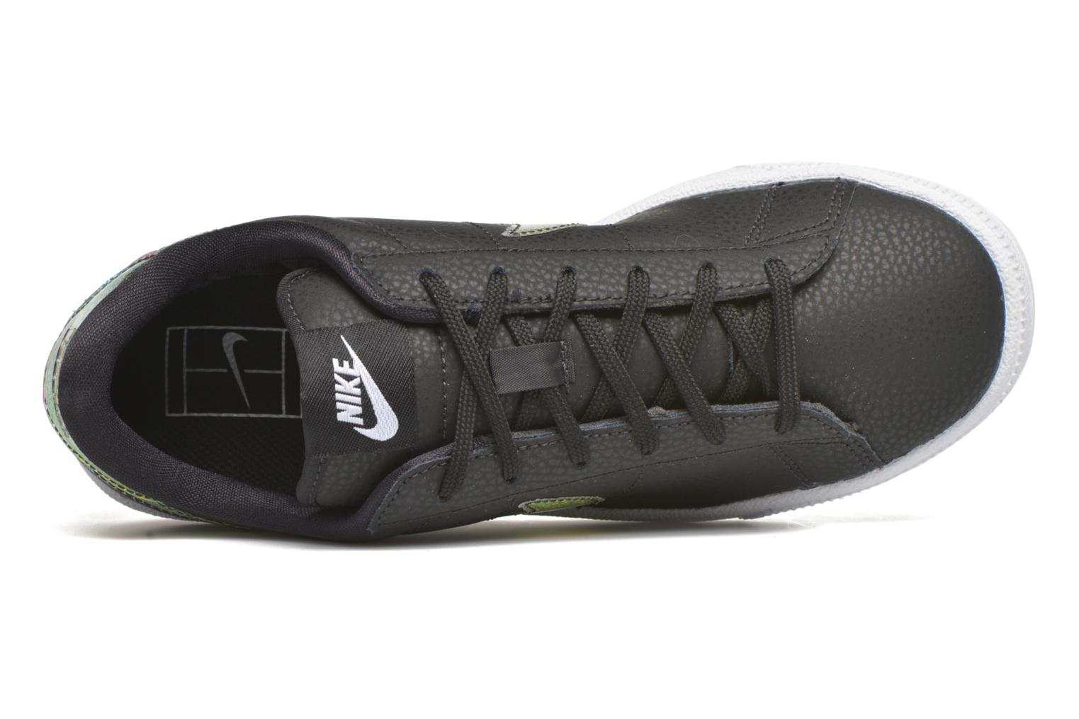 Trainers Nike Wmns Tennis Classic Prm Black view from the left