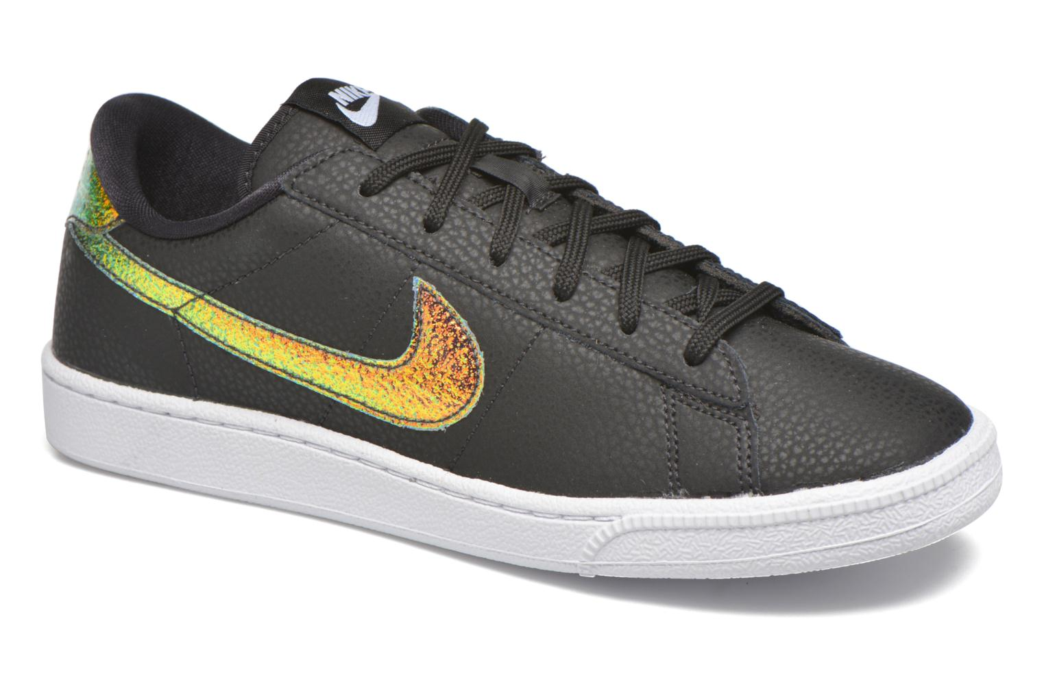 Trainers Nike Wmns Tennis Classic Prm Black detailed view/ Pair view