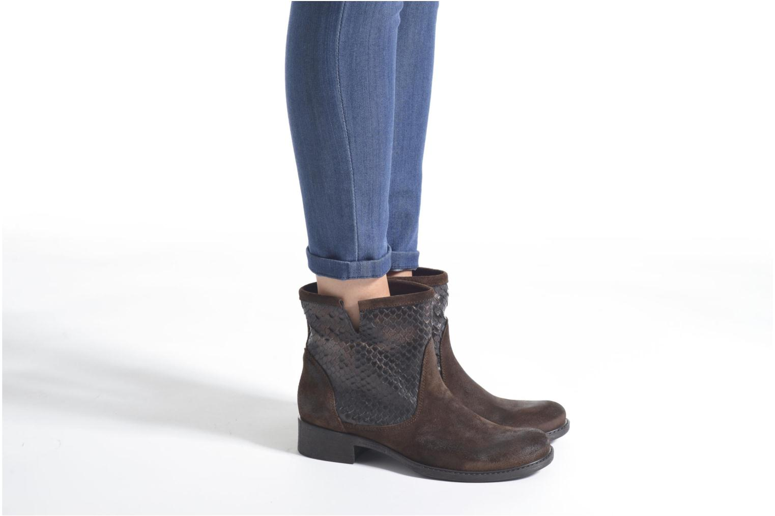 Ankle boots Sweet Lemon L.5.Envie Brown view from underneath / model view