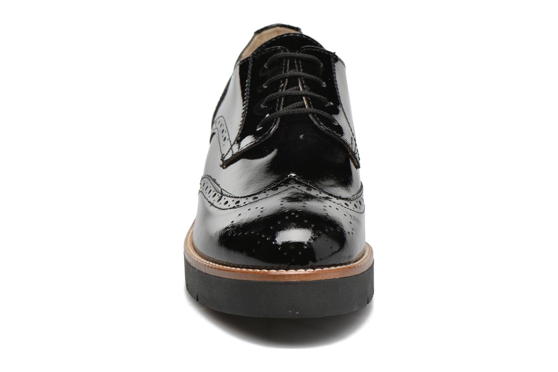 Zapatos con cordones Sweet Lemon L.27.Naboli Negro vista del modelo