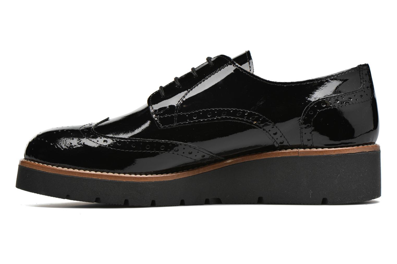 Zapatos con cordones Sweet Lemon L.27.Naboli Negro vista de frente