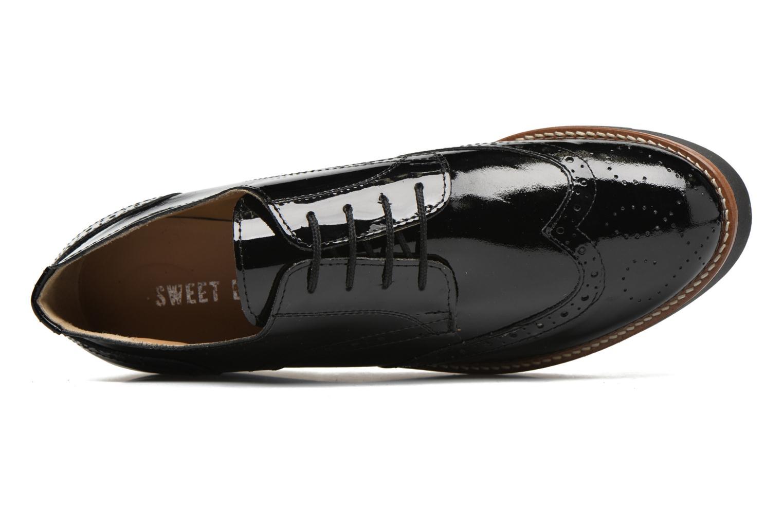 Zapatos con cordones Sweet Lemon L.27.Naboli Negro vista lateral izquierda