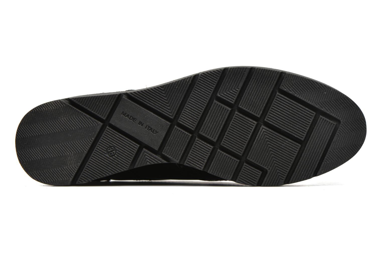 Zapatos con cordones Sweet Lemon L.27.Naboli Negro vista de arriba