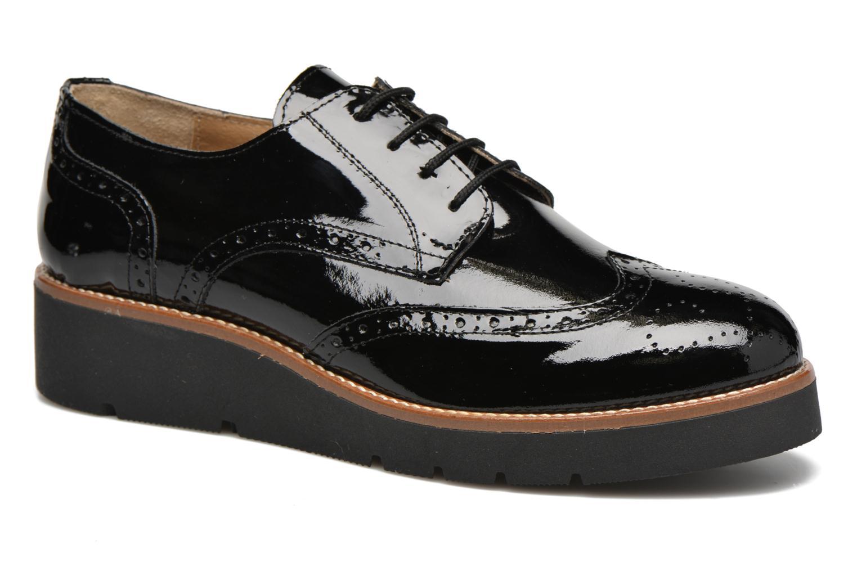 Zapatos con cordones Sweet Lemon L.27.Naboli Negro vista de detalle / par