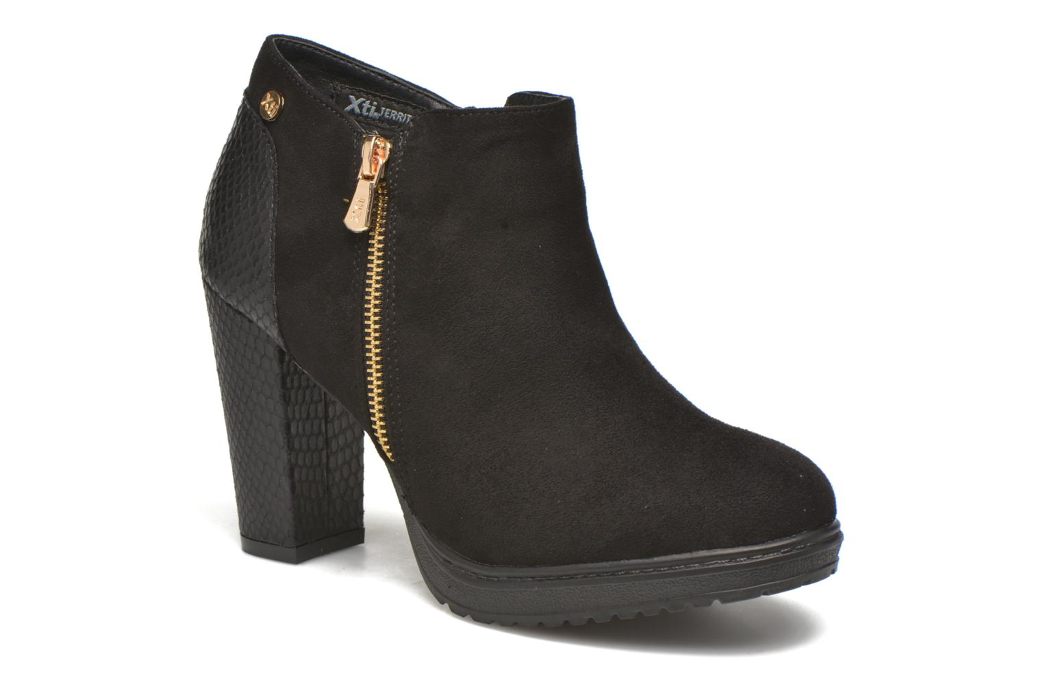 Ankle boots Xti Dory-46004 Black detailed view/ Pair view
