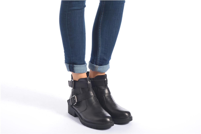 Bottines et boots Xti Caitlyn-46230 Noir vue bas / vue portée sac