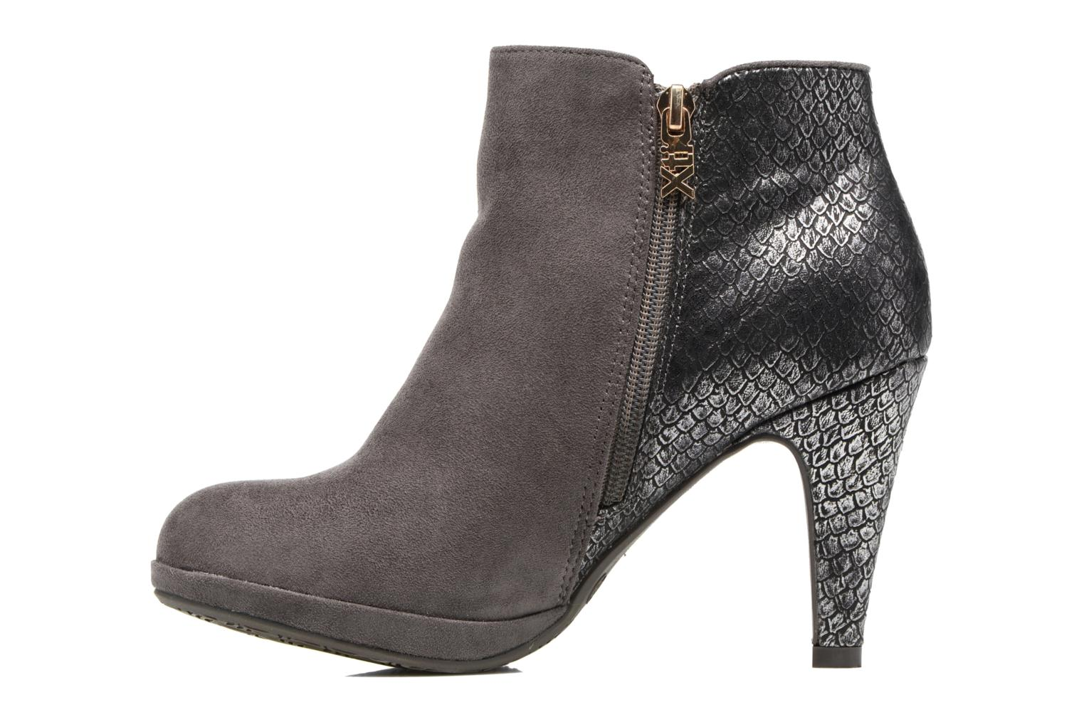 Ankle boots Xti Fresia-30222 Grey front view