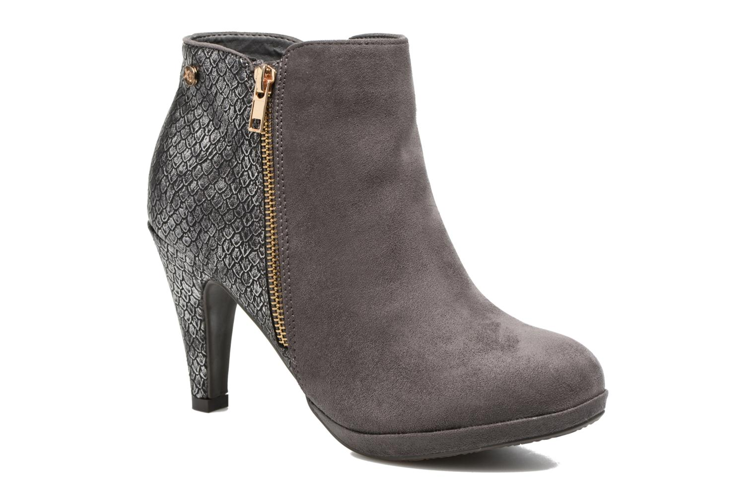 Ankle boots Xti Fresia-30222 Grey detailed view/ Pair view