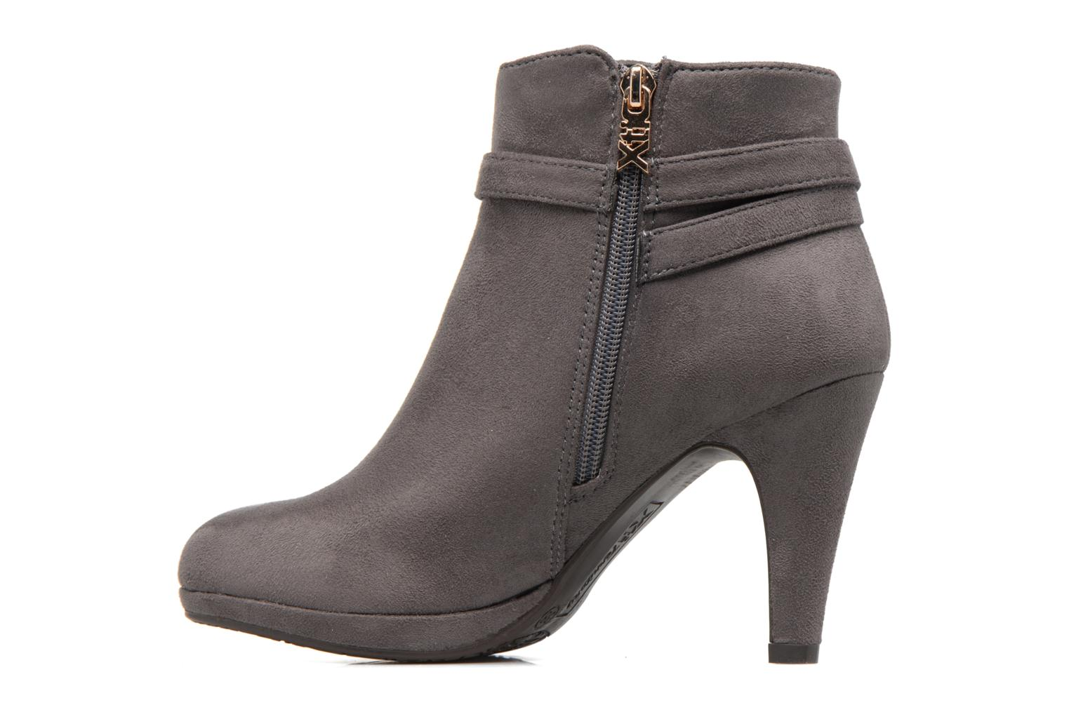 Bottines et boots Xti Poppy-46013 Gris vue face