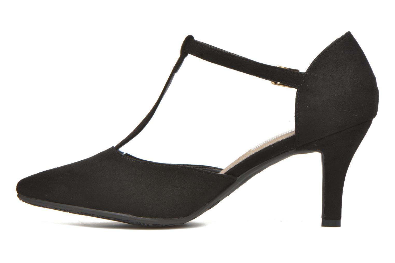 High heels Xti Louna-30242 Black front view