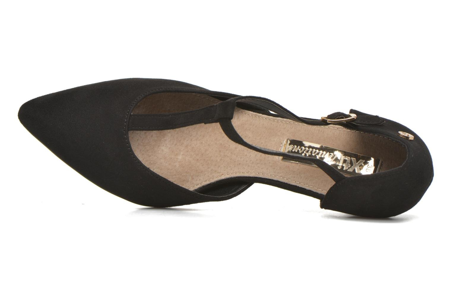 High heels Xti Louna-30242 Black view from the left