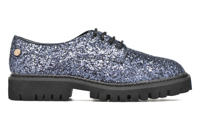 Zapatos con cordones Xti Paillettes-30324 Azul vistra trasera