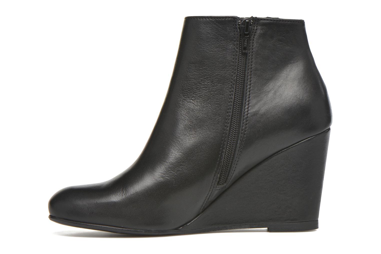 Bottines et boots Georgia Rose Gapensé Noir vue face