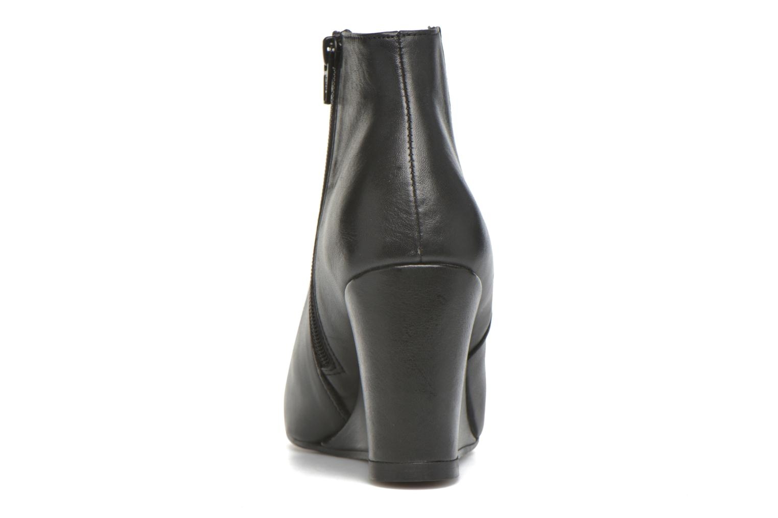 Ankle boots Georgia Rose Gapensé Black view from the right