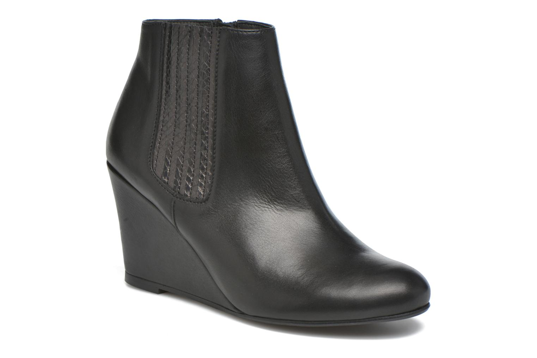 Ankle boots Georgia Rose Gapensé Black detailed view/ Pair view