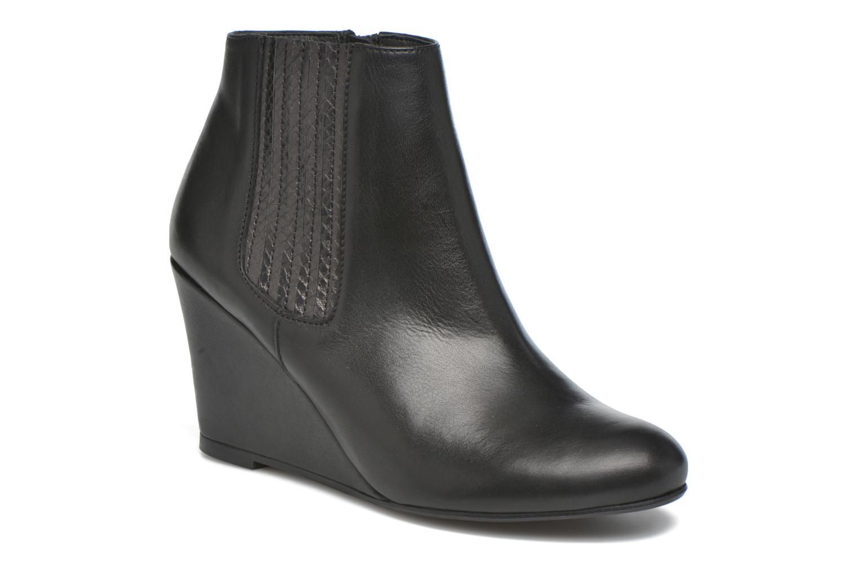 Bottines et boots Georgia Rose Gapensé Noir vue détail/paire