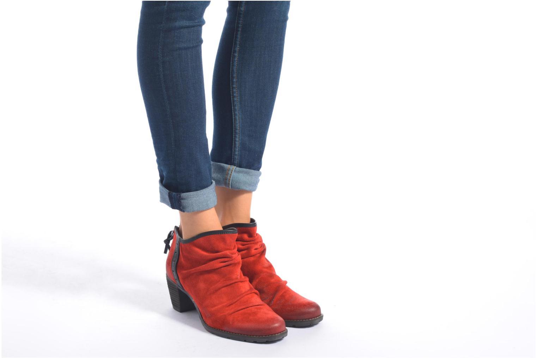 Bottines et boots Dkode Carter 3 Noir vue bas / vue portée sac