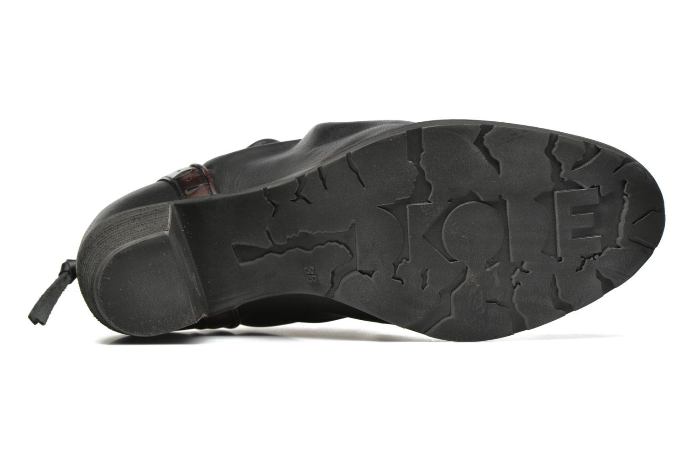 Bottines et boots Dkode Carter 3 Noir vue haut