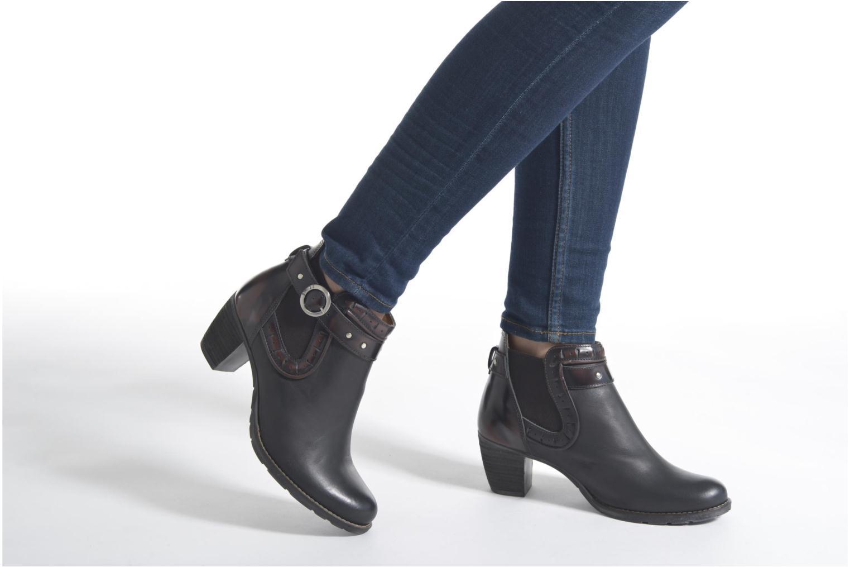 Stiefeletten & Boots Dkode Cloe schwarz ansicht von unten / tasche getragen