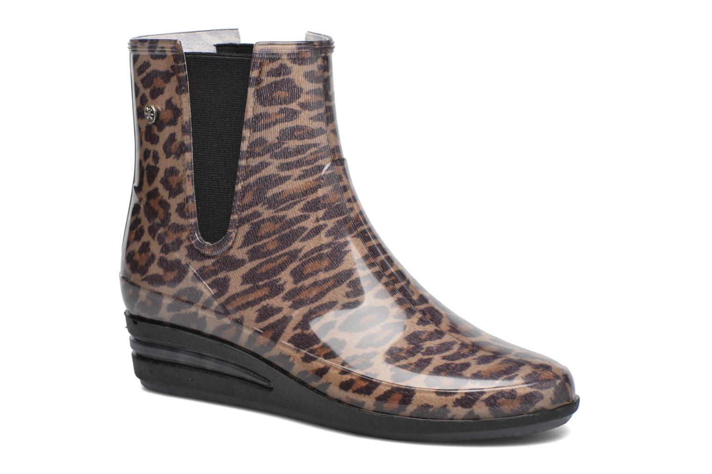 Bottines et boots Méduse Casting Beige vue détail/paire