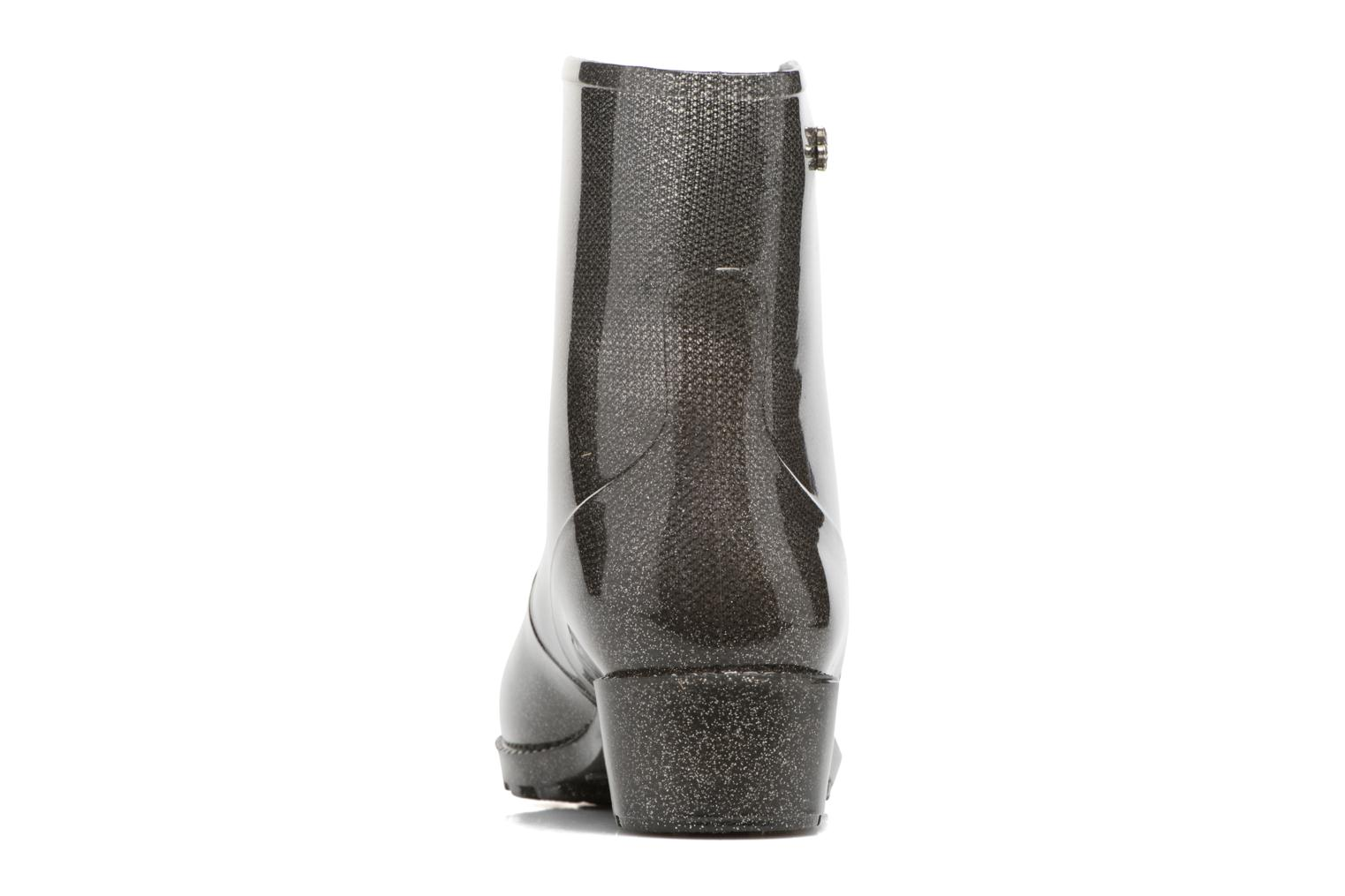 Ankle boots Méduse Camapail Silver view from the right