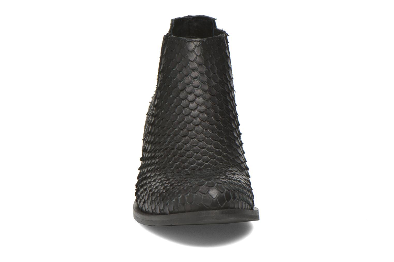 Bottines et boots Georgia Rose Matiag Noir vue portées chaussures