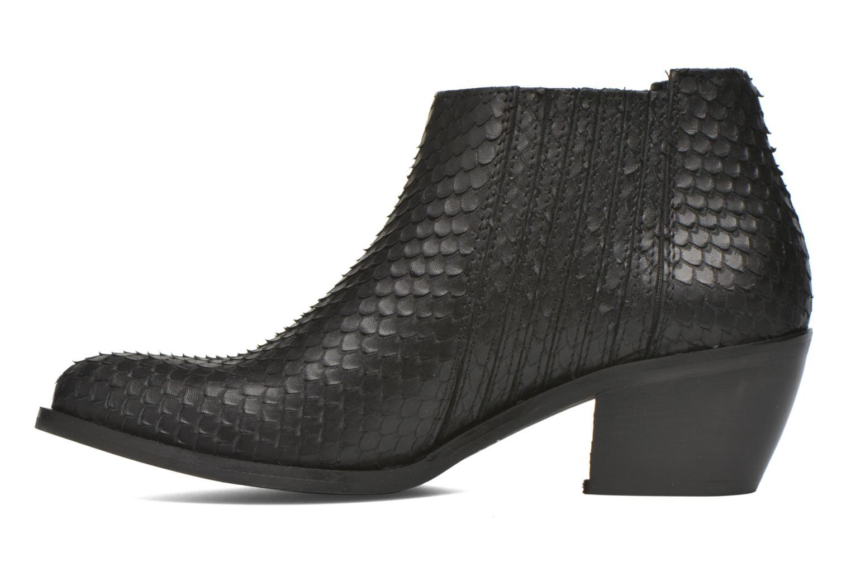 Bottines et boots Georgia Rose Matiag Noir vue face
