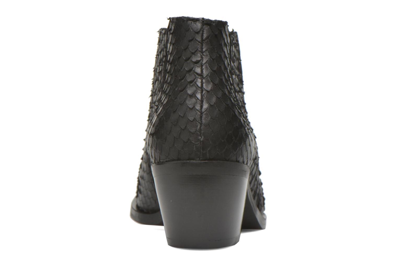 Bottines et boots Georgia Rose Matiag Noir vue droite