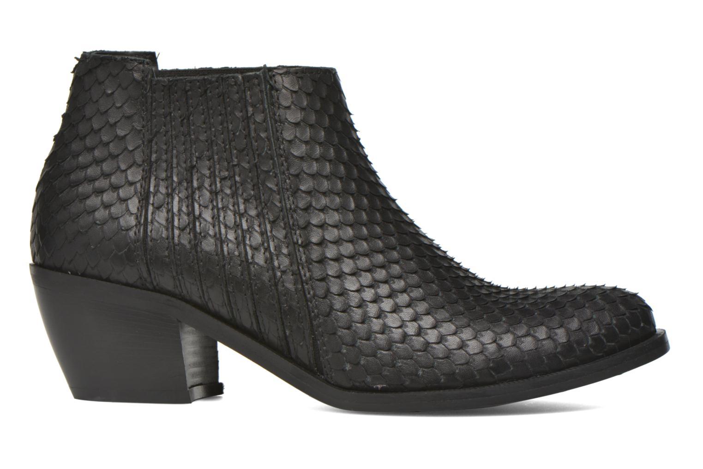 Bottines et boots Georgia Rose Matiag Noir vue derrière