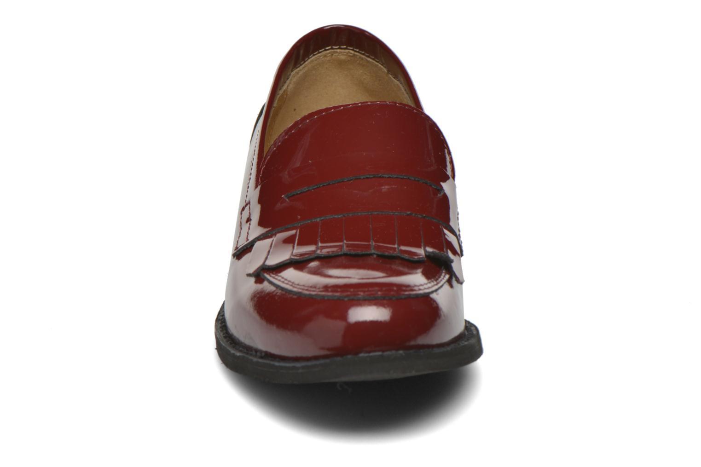 Loafers Georgia Rose Mamoc Burgundy model view