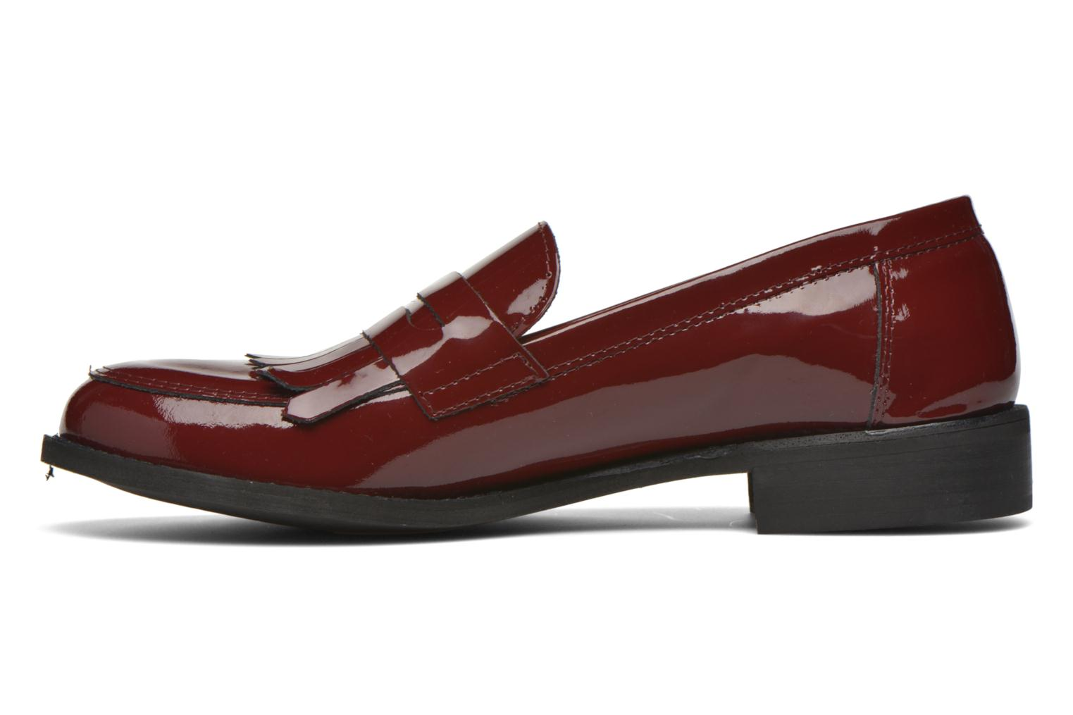 Loafers Georgia Rose Mamoc Burgundy front view
