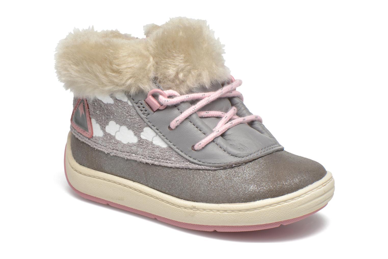 Bottines et boots Clarks Maxi Fun Fst Gris vue détail/paire