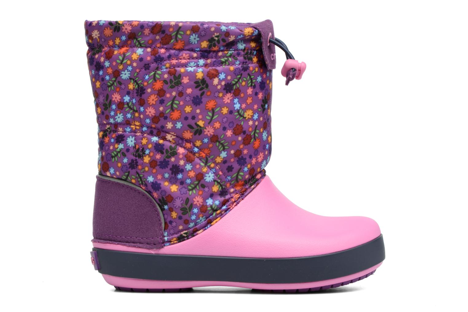 Boots & wellies Crocs Crocband Lodgepoint Graphic K Pink back view