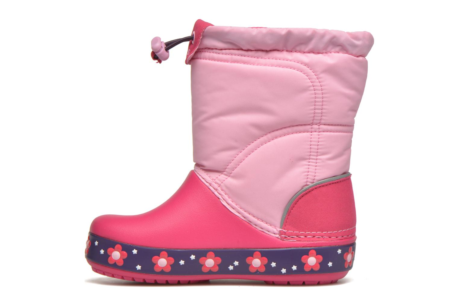 Boots & wellies Crocs Crocslights Lodgepoint Pink front view