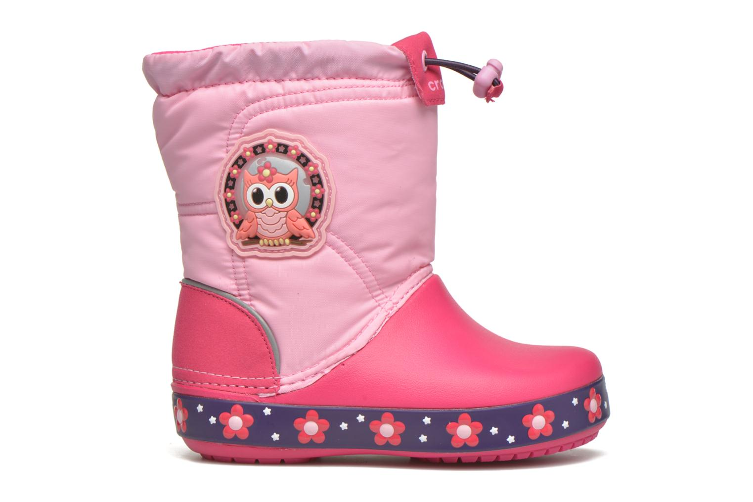 Boots & wellies Crocs Crocslights Lodgepoint Pink back view