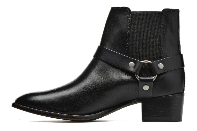 Bottines et boots Frye Dara Harness Chelsea Noir vue face