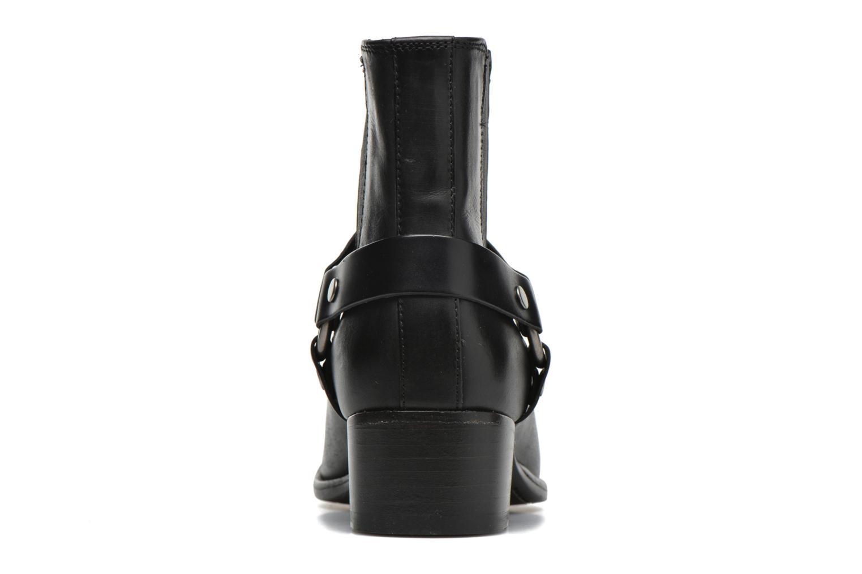 Bottines et boots Frye Dara Harness Chelsea Noir vue droite