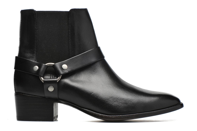 Bottines et boots Frye Dara Harness Chelsea Noir vue derrière