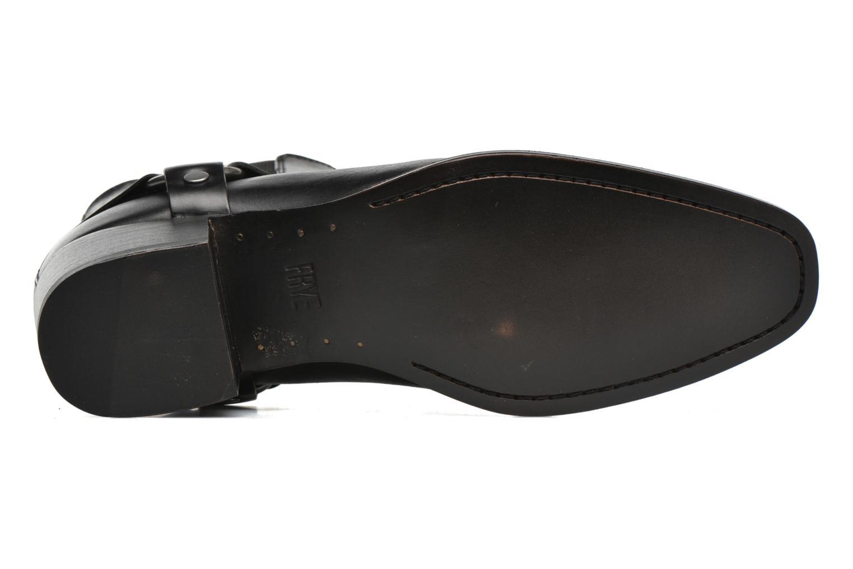 Bottines et boots Frye Dara Harness Chelsea Noir vue haut